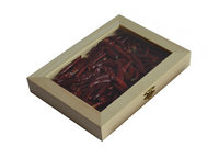 glass lid wooden boxes