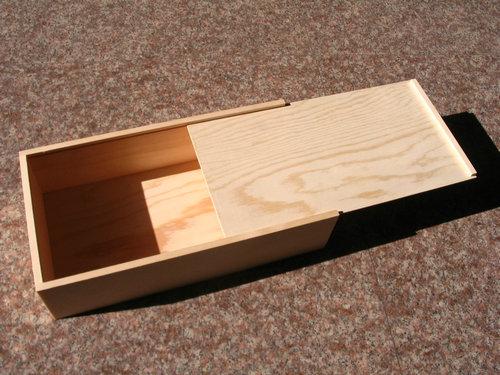 Slide Lid Wooden Boxes Slide Top Gift Boxes