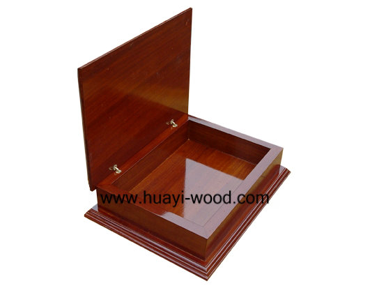 Hinged Lid Wood Gift Packing Boxes